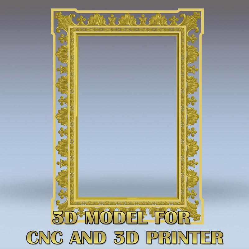3D stl cnc model