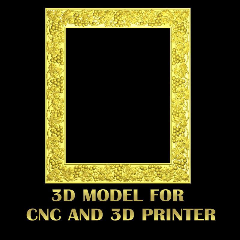 stl cnc 3D model