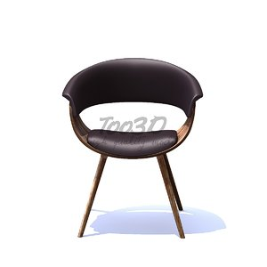 contemporary dining chair 3D model