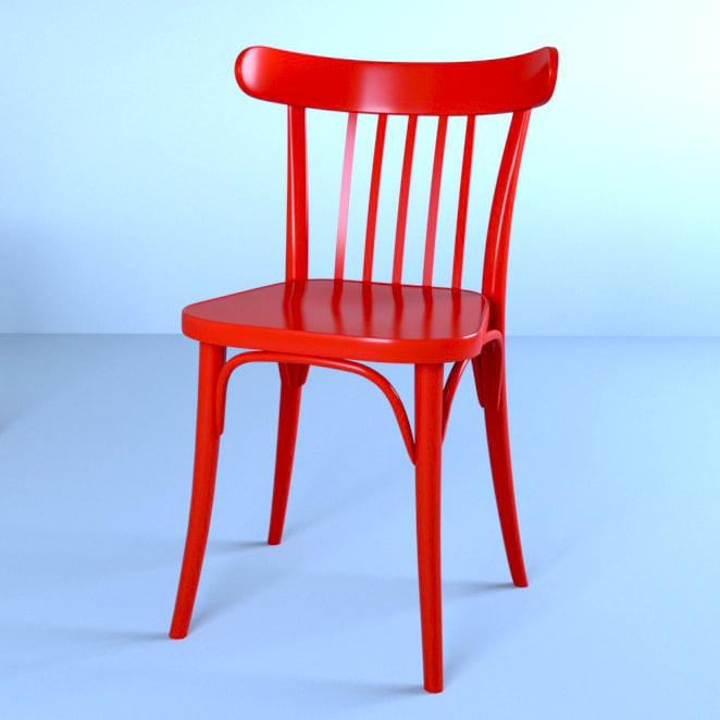 chair ton 763 3D model