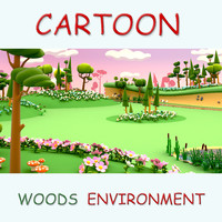 Cartoon woods