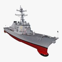 3D arleigh burke destroyer okane