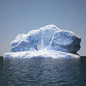 iceberg v3 3D model