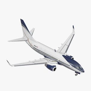 3D boeing 737-700 generic model