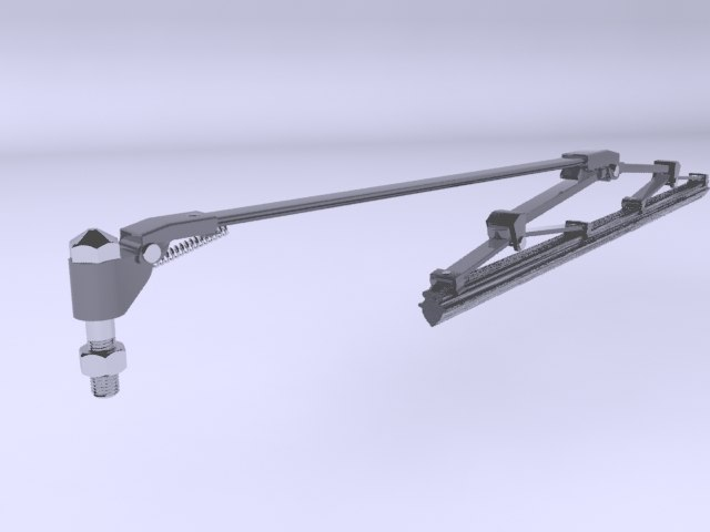 3D wipers cars model