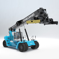 reach stacker 3D