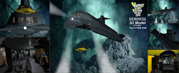3D seaview submarine