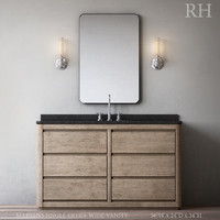 3D model martens single extra-wide vanity