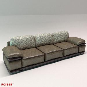 sofa bedroom living 3D model