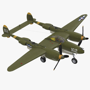 lockheed p-38 lightning wwii model