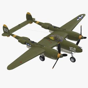 lockheed p-38 lightning wwii model