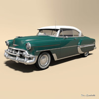chevrolet bel air 3D model