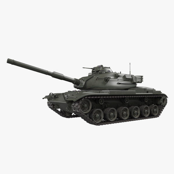 3D main battle tank m60 model