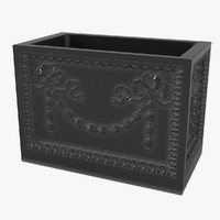 adam iron planter 3D