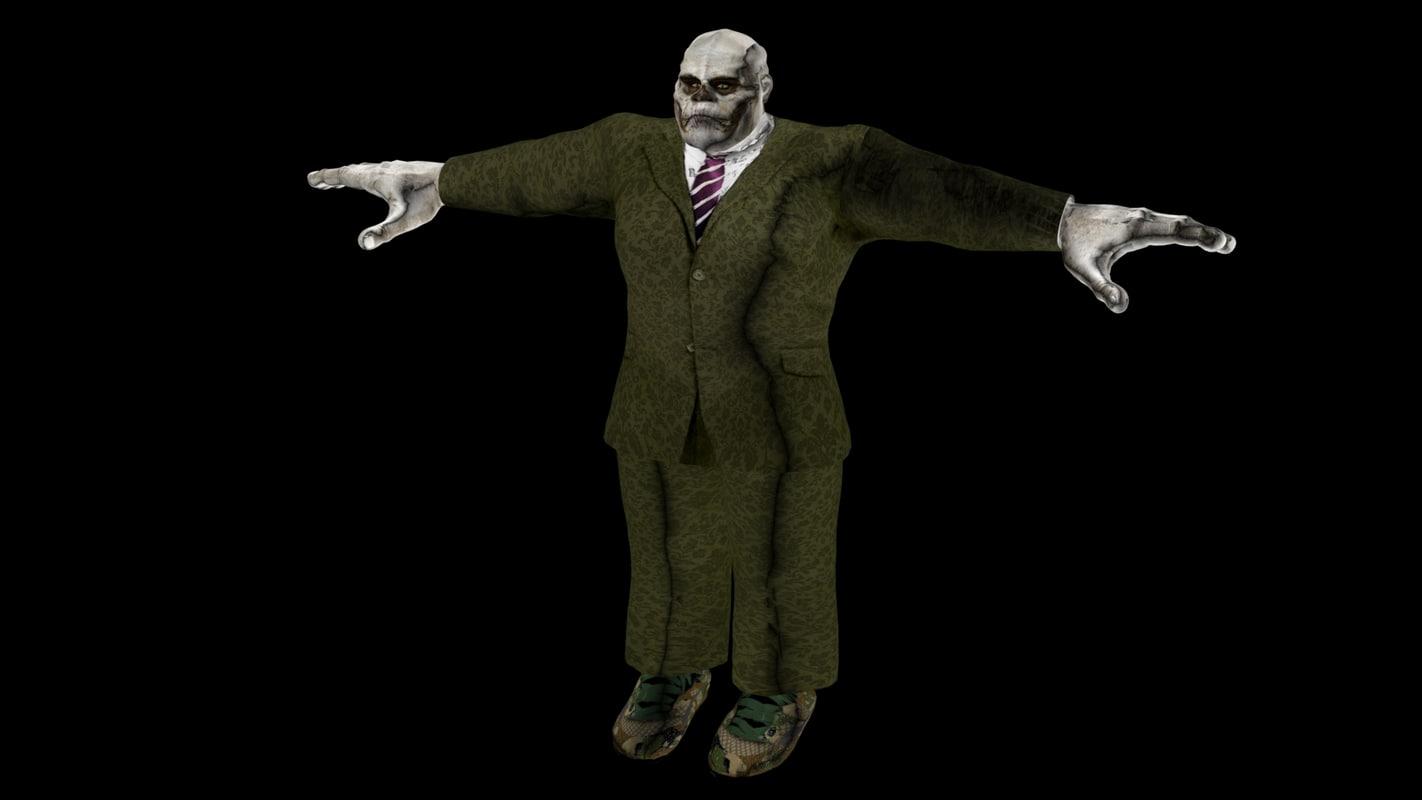 monster suit 3D model