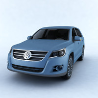3D car volkswagen tiguan model