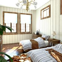 guest bedroom design model