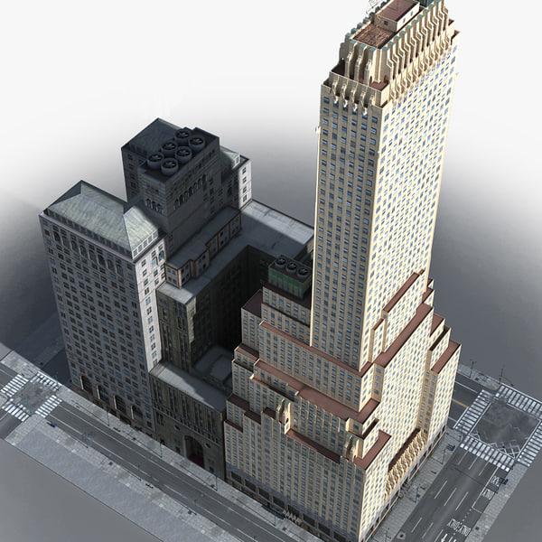 3D new york manhattan lexington