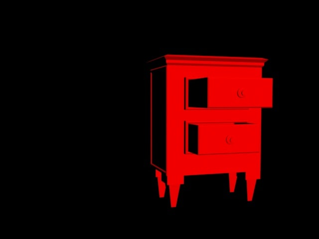 night stand 3D model