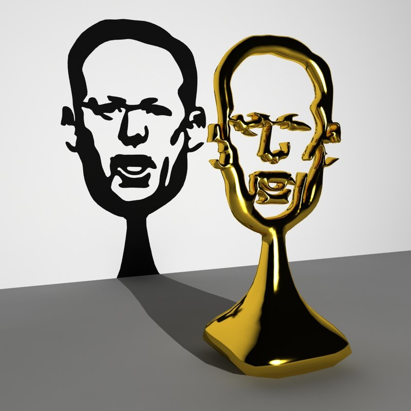 sean spicer trophy 3D model