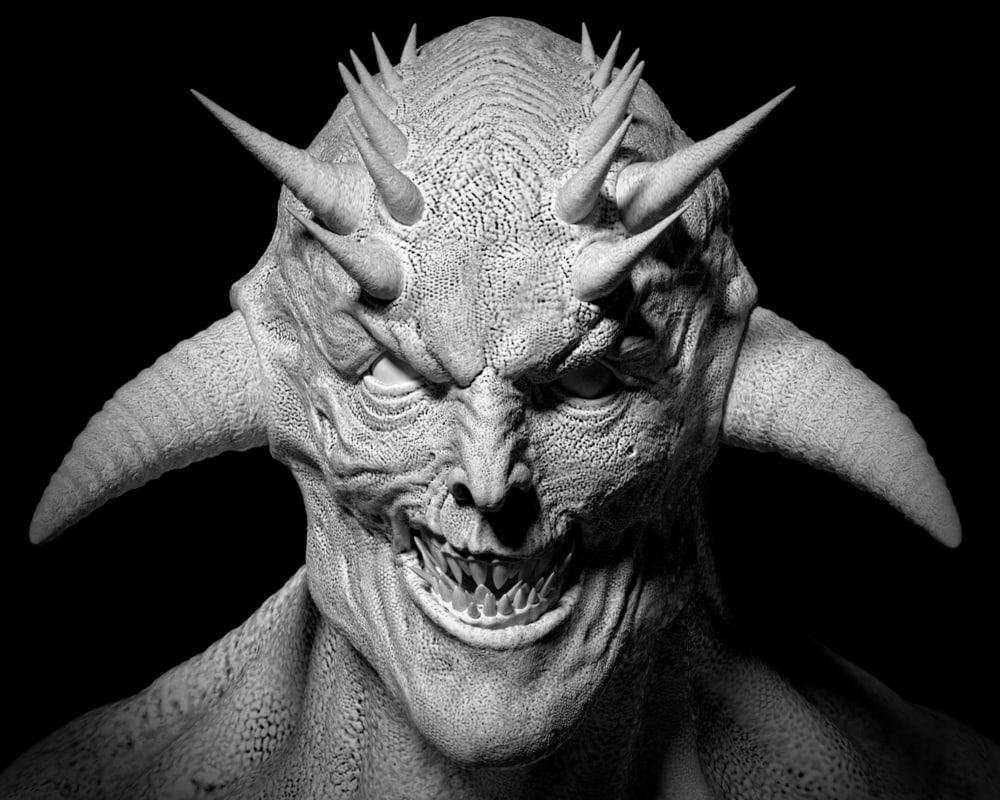 evil devil model