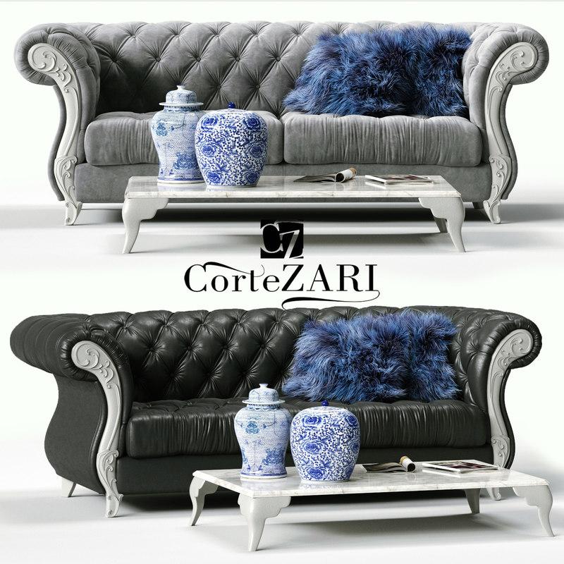cortezari gabriel sofa 3D