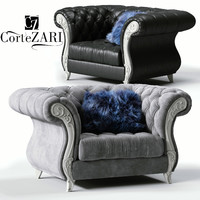 3D cortezari gabriel armchair