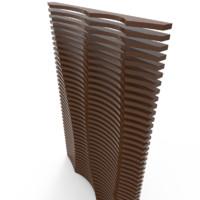3D model parametric wall