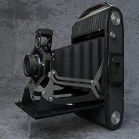 3D model camera vintage