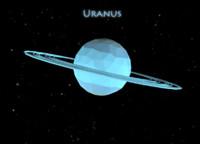 Low Poly Uranus