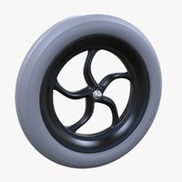 3D small wheels model