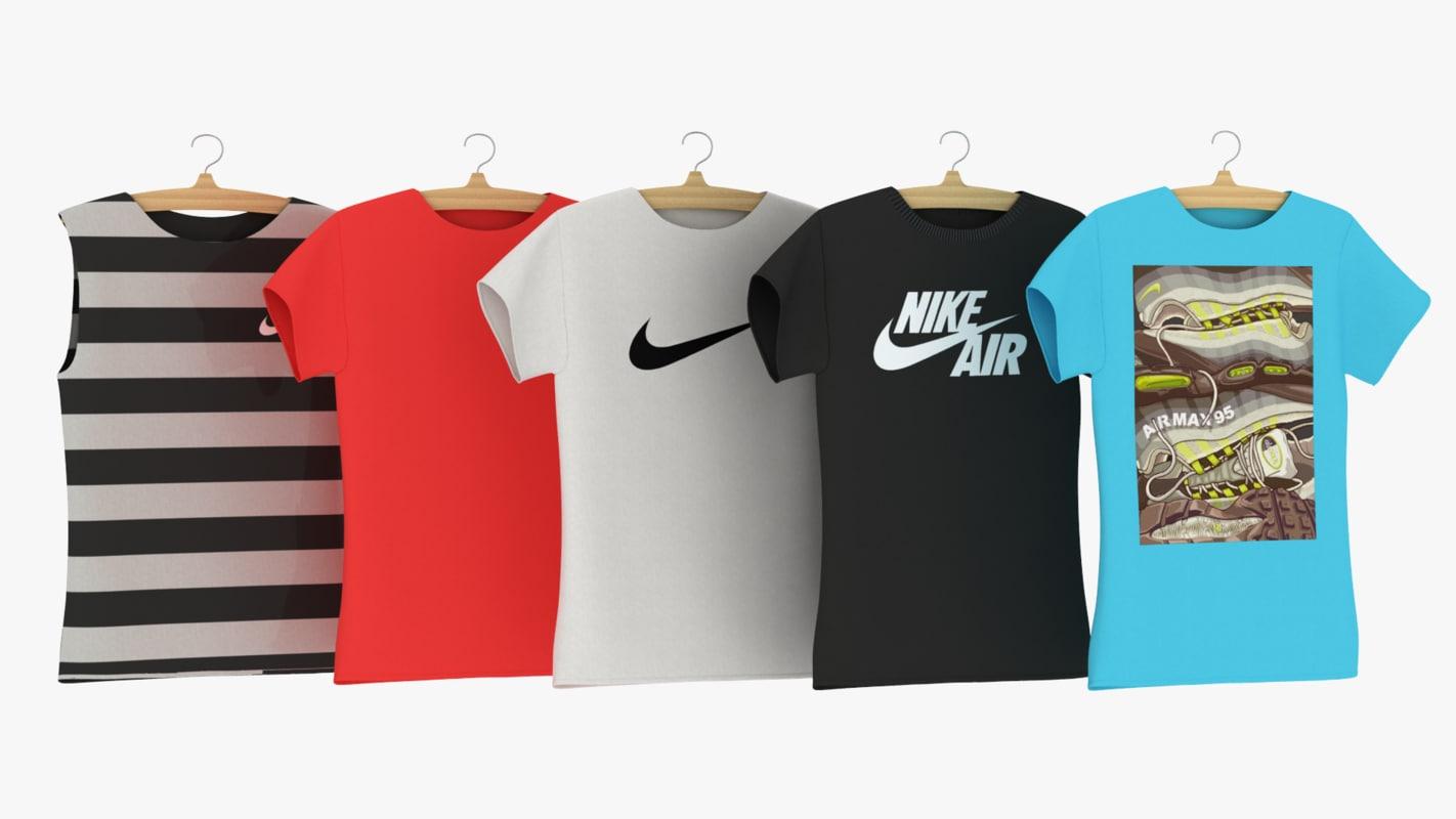 3D t-shirt nike hanger