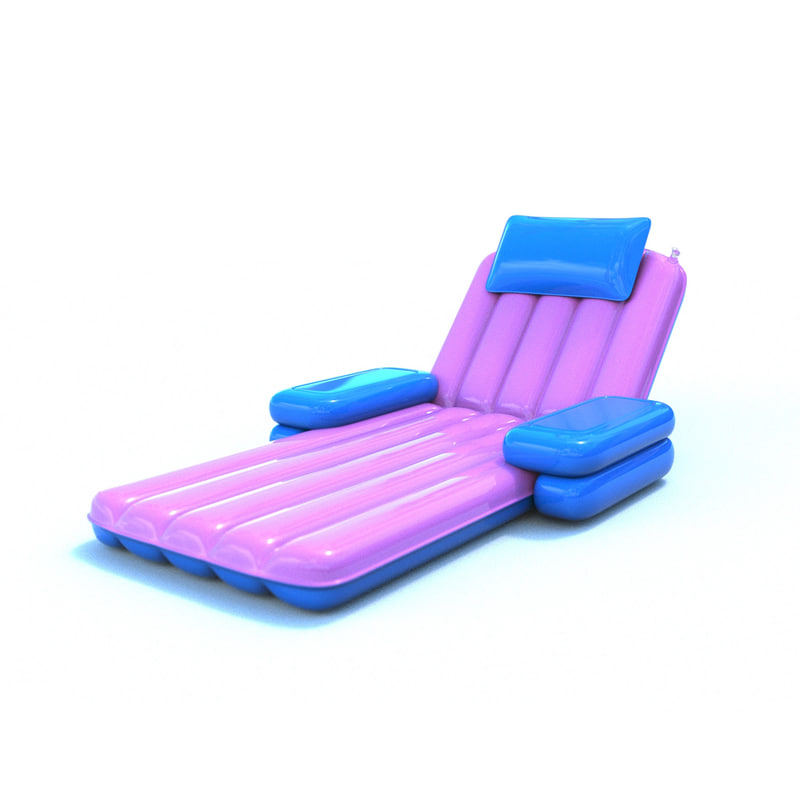 inflatable pool chair model