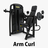 3D - sp arm curl
