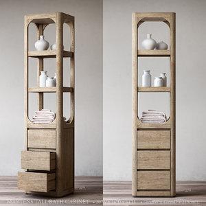 martens tall bath cabinet model