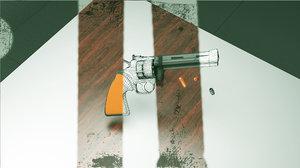 pyton weapon 3D model