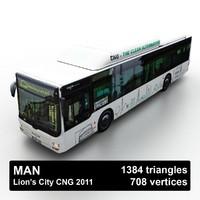 2011 man lion s 3D model