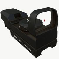 sight unity 3D model