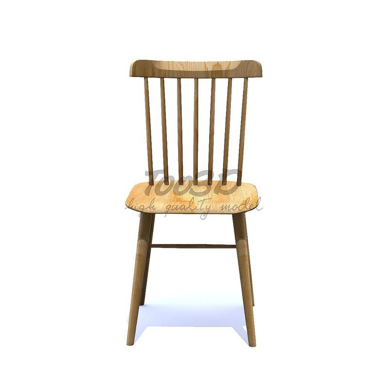 salt chair 3D model