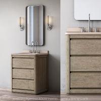 martens powder room vanity 3D model