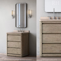 martens powder room vanity 3D model