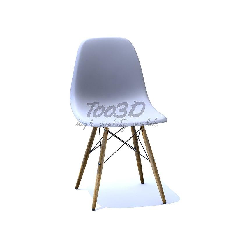 eames chair 3D