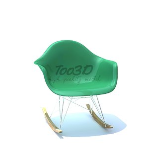 3D eames chair