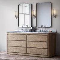 martens double vanity 3D model
