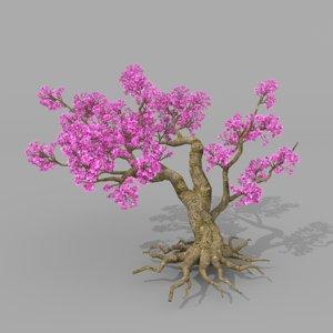 peach blossom trees model