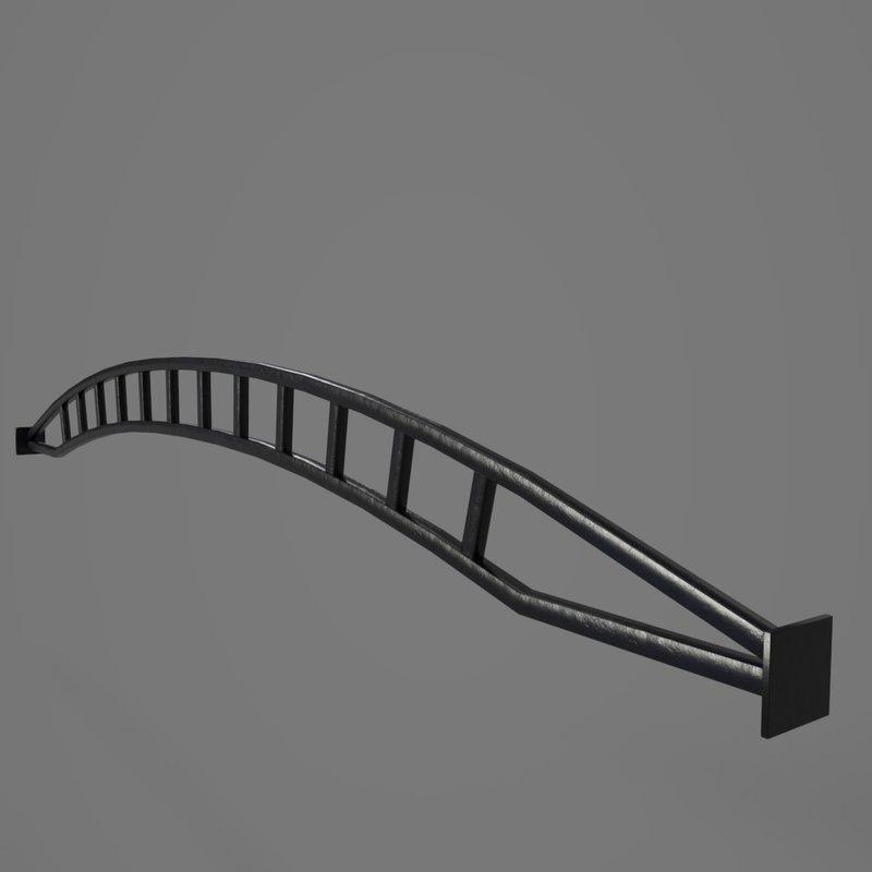 3D metalwork metal model