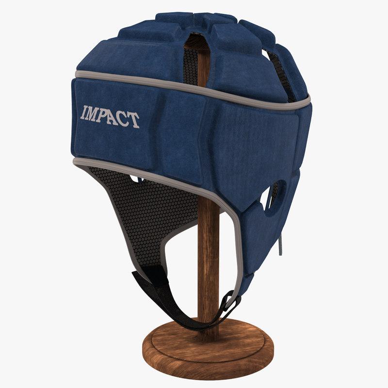 3D headgear head gear model