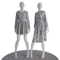 3D mannequin man