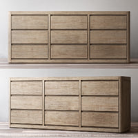 RH MARTENS 9-DRAWER DRESSER