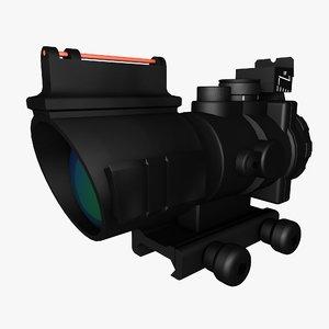 3D acog optic model
